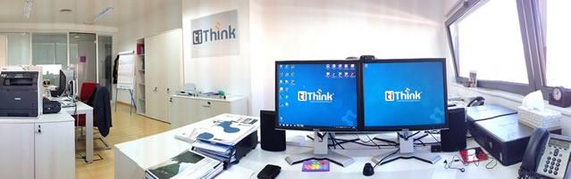 Oficina de tiThink en su sede del edificio Crea