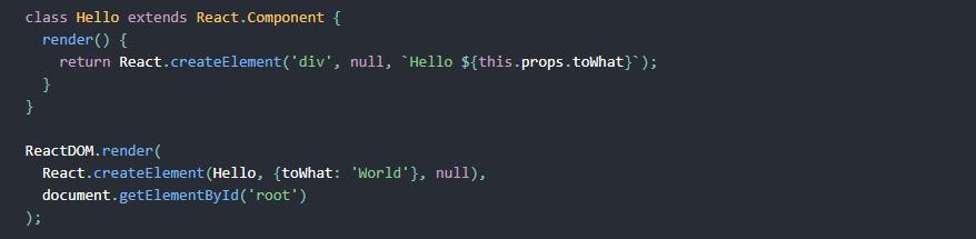 react jsx vs javascript - javascript